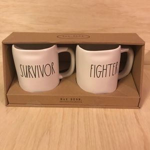 Rae Dunn coffee mug gift set